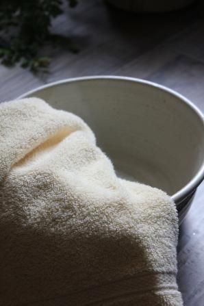 towel & bowl